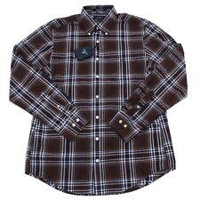 5239N camicia GANT camicie uomo shirt men marrone