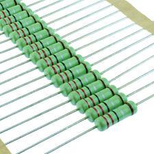 2W Power Metal Film Resistor 1% Tolerance 1 Ohm - 1M Ohm