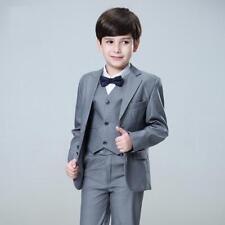 Nimble 3 pcs Set Kids Suits For Weddings Prom Boys Formal Tuxedos Blazer Custom
