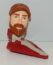 2008 Obi-Wan Kenobi #17 Bobble Head Toy McDonald's Star Wars Clone Bobblehead