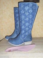 JJ Footwear XXL Weitschaft Stiefel Alexandria in kobaltblau NEU Gr. 44 JJFW chic