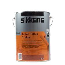 (22,10€/ L)Sikkens Cetol Filter 7 plus 5L versch. Farben , Dickschichtlasur