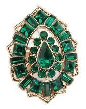 Zest Indian Style Swarovski Crystal Kundan Ring