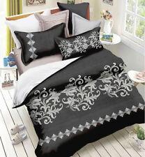 Queen/King/SuperKing Size Bed Duvet/Doona/Quilt Cover Set New Ar M303