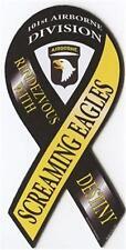 "4""-18"" 101st AIRBORNE SCREAMING EAGLES US ARMY Car Ribbon Vinyl Decal"