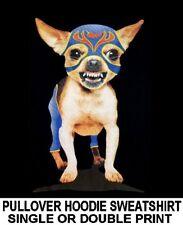 SUPER CHIHUAHUA FUNNY NAUGHTY BAD BOY ATTITUDE DOG PULLOVER HOODIE SWEATSHIRT 2