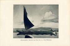 Hammeschiff Kunstdruck 1938 Fritz Mackensen Greene GDK Gottbegnadetenliste Hamme