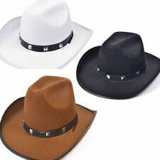 una taglia costume cowboy Autentico CAPPELLO WESTERN ERRANTE Gunman