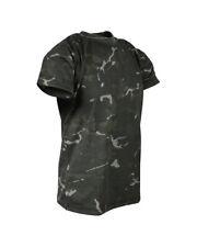 Kids Army T Shirt BTP Black Camo
