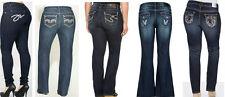 NEW Wholesale Lot WOMENS Blue Denim Plus Size Skinny Pants Jeans 14 16 18 20