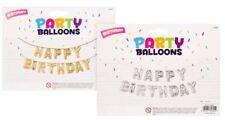 Feliz Cumpleaños Globo Pancarta, fácil de usar, inflado con la INCLUIDO paja
