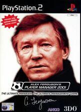 Alex Ferguson Player Manager 2001, buona PLAYSTATION 2 Videogiochi