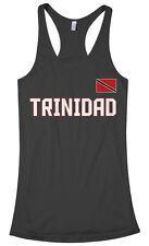 Threadrock Women's Trinidad National Team Racerback Tank Top trinity flag