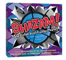 SHAZAM 50 GUITAR BUSTIN INSTRUMENTALS - 2 CD BOX SET