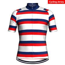 Mens Cycling Jersey Bicycle Bike Kit Shirt Team Ride Race Short Clothing Top MTB