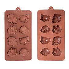 Bandeja De Hielo/Chocolate Molde de Silicona para pastelería, Pasteles, Cupcakes-vehículos