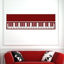 Pianoforte tastiera strumento musicale Wall Art Adesivo (as10151)