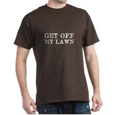 CafePress Get Off My Lawn T Shirt 100% Cotton T-Shirt (1334240937)