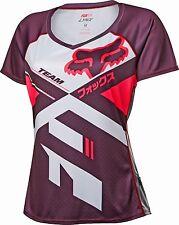 Fox Racing 2016 Womens Lynx Short Sleeve Jersey Plum
