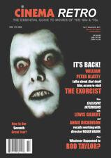 CINEMA RETRO #19 THE EXORCIST TRIBUTE ISSUE JAMES BOND