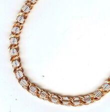 ROMB FANTASY Kette Halskette Fantasie Schildkröte russische Rose Gold 585 chain