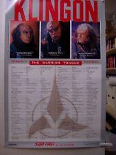 Star Trek The Next Generation: Klingon - The Warrior Tongue Poster (USA)