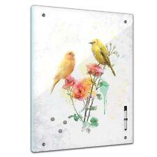 Memoboard - Aquarelle - Kanarienvögel