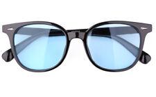 Womens Mens Black Frame Retro Classic Full Rim Eyewear Sunglasses Glasses UV400