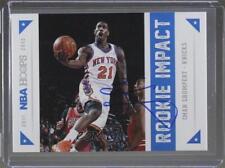 2012 NBA Hoops Rookie Impact #9 Iman Shumpert AUTHENTICATED New York Knicks Card