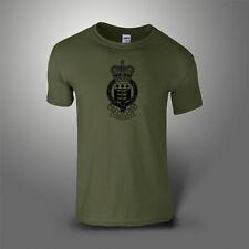 Royal Army Ordnance Corps RAOC T-Shirt 100% Cotton Military Green