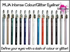 MUA Couleur Intense paillettes crayon eye-liner Fard à paupières noir brun lilas