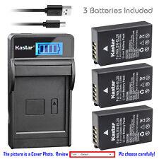 Kastar Battery LCD USB Charger for Nikon EN-EL20 MH-27 and Nikon 1 J1  Camera