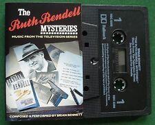 Ruth Rendell Mysteries Music from TV Series Brian Bennett Cassette Tape TESTED