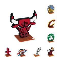 NBA Basketball 3D BRXLZ Team Logo Puzzle Construction Block Set - Pick Team!