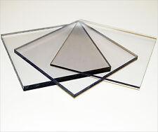 Clear Polycarbonate Lexan Makrolon Palsun Sheet Solid Panels Cut To Size