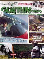 Guerin Sportivo 50 1987 Storia Inter a fumetti - Morte di Pier Cesare Baretti -F