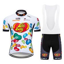 2019 Mens Cycling Jersey Bib Shorts Set Ciclismo Maillots Pants Pad Set Outfits