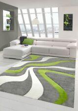 Salon Designer Tapis contemporain Tapis moquette avec motif de vague de coupe de