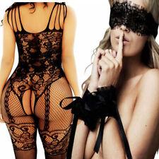Women Lace Sexy Lingerie Bodystockings Nightwear Underwear Babydoll Sleepwear