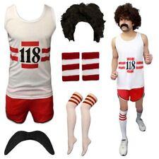 Mens 118 Stag Do Fancy Dress Marathon Costume Womens Vest Short Socks Wig Lot