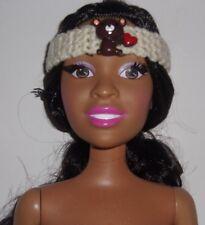 "Handmade Crochet Headbands for 28"" Best Fashion Friend Barbie Dolls,"