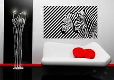 Zebra Illusion Vinyl Wall Sticker for living room bedroom mural decal art WSD674