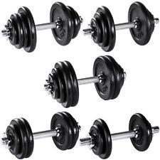 Halters dumbbell set kort halter fitness sport gewicht gewichten gietijzer