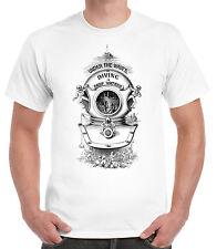 Victoriano Ilustración De Buceo T-shirt. victoriana Buceo Scuba Vintage