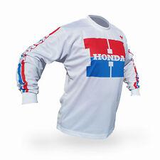 Vintage 80's Style Honda Motocross Jersey MX Enduro AHRMA Motorcycle Enduro