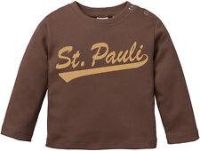 ST. PAULI Creme print Baby-Longsleeve Shirt