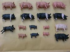 Britains animaux de la ferme, porcs multi-annonce