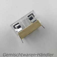 Sicherungshalter 5mm x 20mm für Printmontage Fuse Holder 6A / 250V Abdeckung