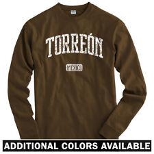 Torreon Mexico Long Sleeve T-shirt - LS Men S-4X - Gift Coahuila Santos Laguna