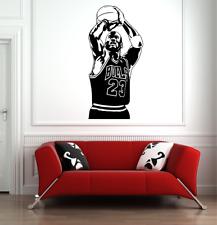 Michael Jordan 23 Wall Art Decalcomania Basket Sport Palestra Adesivo Vinile Camera Da Letto Casa